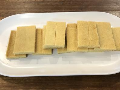 Arnott's Scotch Finger biscuits homemade shortbread recipe
