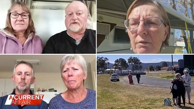 Australians trapped at state borders say they 'feel like a refugee'.