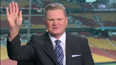 Paul Vautin gives emotional NRL Footy Show tribute