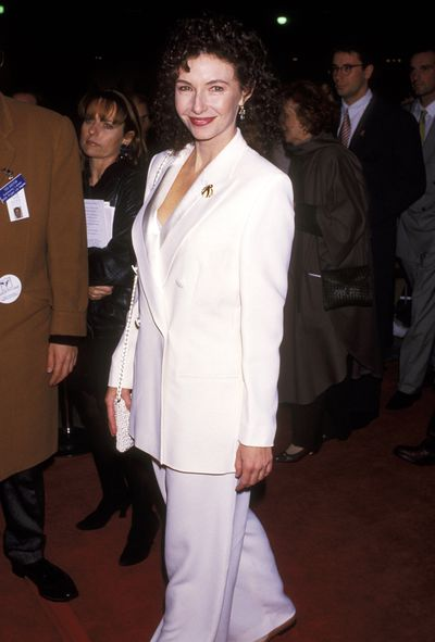 Mary Steenburgen at the premiere of <em>Philadelphia</em> in LA in 1993.