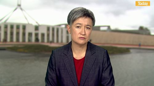 Shadow Minister for Foreign Affairs Penny Wong condemns the treatment of Australian women at Doha airport.