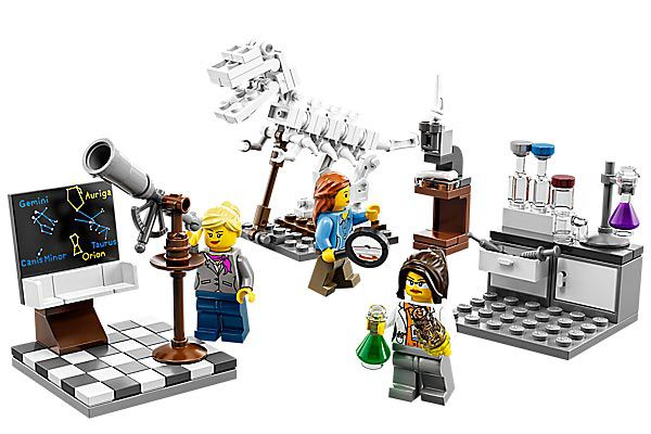 Lego's real researchers have made some interesting findings.