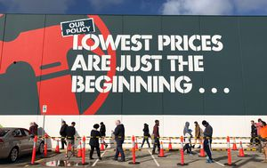 Sales soar at Bunnings, Officeworks as people spend more time at home