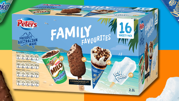 Peters Family Favourites variety pack