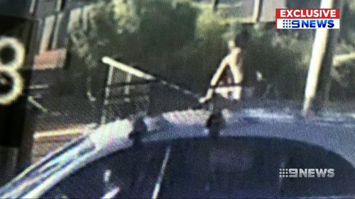 The child's mother is understood to have been unaware that the child was on top of the vehicle.