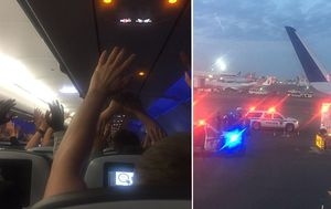 JetBlue plane stormed at JFK airport, after accidental 'hijack' causes panic
