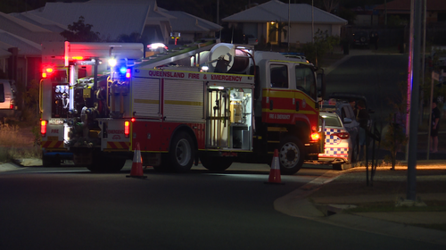 A 25-year-old woman is fighting for life after being hit in Gracemere, Queensland. Picture: 9NEWS