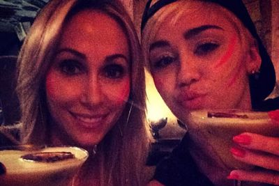 @mileycyrus: @brandicyrus said it best 'My mom is hotter than your mom' @tishcyrus