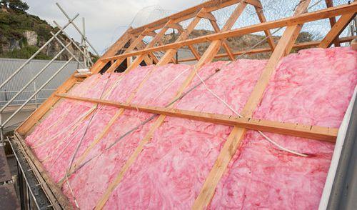Pink batts insulation. (Via pinkbatts.co.nz)