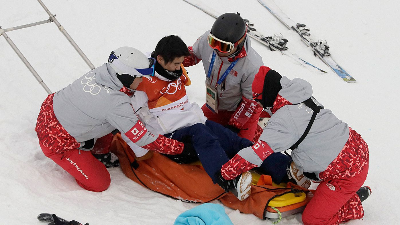 Winter Olympics: Japanese snowboarder Yuto Totsuka in scary crash during halfpipe final