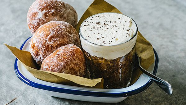 Besser's bombolini Italian doughnuts