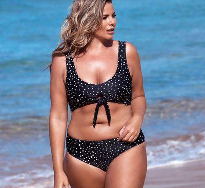 Fiona Falkiner in swimwear brand Saint Somebody's new campaign