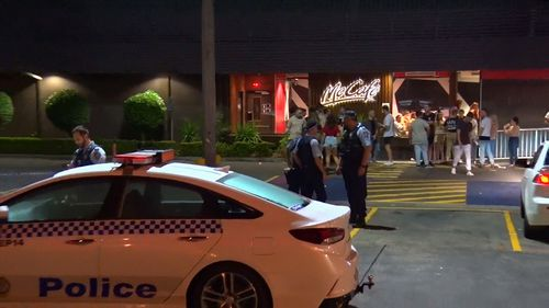 After a review of the McDonald's CCTV system detectives executed two search warrants yesterday in pursuit of the men.