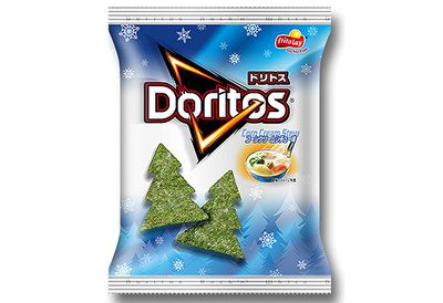 Stew-flavoured Christmas Doritos