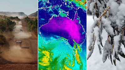Australia set for snow and 43C in wild 24 hours of weather