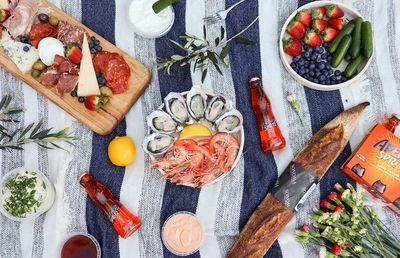 Fratelli Fresh Seafood Picnic Hamper - NSW