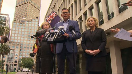 Premier Daniel Andrews announced a royal commission into the scandal yesterday.