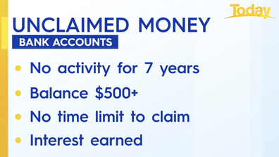 What to know about unclaimed money in bank accounts.