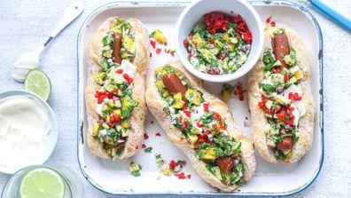 Vegan summer Llovin' hotdogs