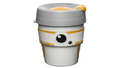 "Keep Cup BB8 original cup 227ml, $24.95, <a href=""http://www.myer.com.au/shop/mystore/giftorium-stocking-fillers/keep-cup-keepcup-bb8-%28original--08oz-227ml%29 "" target=""_top"">myer.com.au</a>"