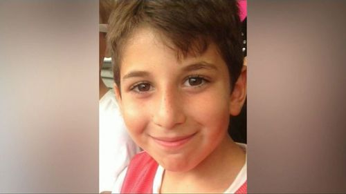 Marcus Shashati had been travelling in the car with his uncle when they flipped over in Williamtown, NSW.