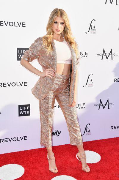 Model Charlotte McKinney.