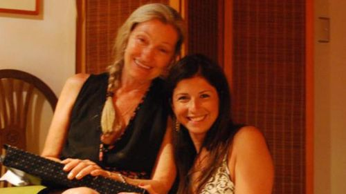 Ms Haddad and her mother Milu Muller. (Facebook)