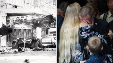 Mourners gather to mark Hilton Hotel Bombing's 40th anniversary