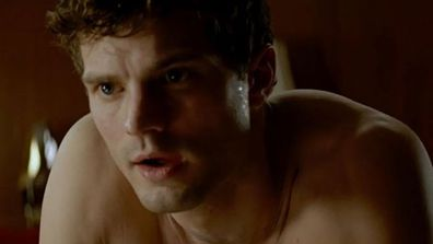 "Jamie Dornan's revealed just how they covered his junk in <I>Fifty Shades of Grey</I>... and it's a <i>little</i> disappointing. Pardon the pun. <br/><br/>""It's like one of those little satchels that Robin Hood or someone of that era would have tied onto his belt,"" he told <I>Variety</I>. ""There's no back. It's tiny... I mean, it's not tiny. Because it's got to hold a lot!""<br/><br/>But that's not all, FIXers! He then went on to talk about his ""terrible sex face"", which he says is ""the worst thing imaginable"". No matter what you say Jamie, our Christian Grey fantasies are very much alive..."