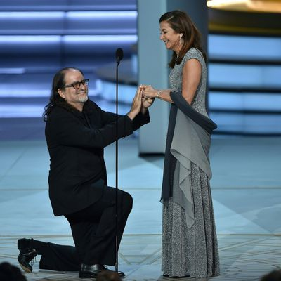 2018: Glenn Weiss proposes to Jan Svendsen
