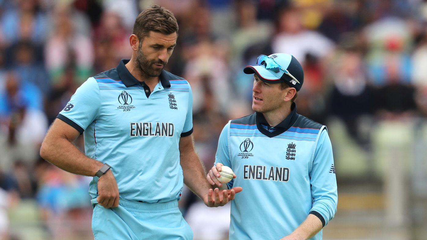 Liam Plunkett and Eoin Morgan