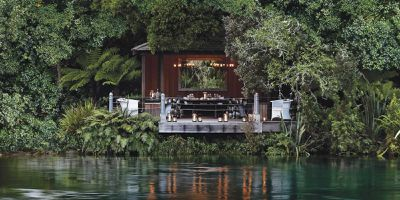 10. Huka Lodge - Taupo, New Zealand