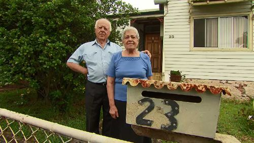 Elderly Sydney couple battle to save home of 40 years from being demolished