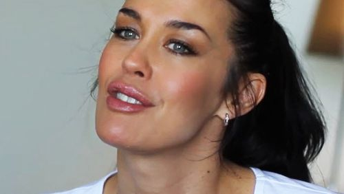 Australian supermodel Megan Gale.