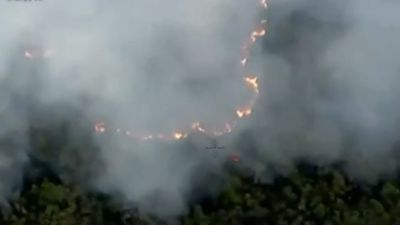 Lightning strikes spark nine bushfires