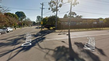 The intersection of Kildare Road and Doonside Road, where the attack allegedly took place.