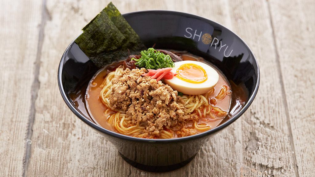 Shoryu Ramen karaka tan tan tonkotsu (supplied)