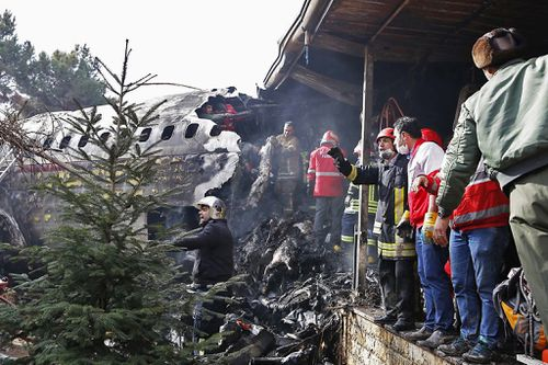 The plane was travelling from Bishkek in Kyrgyzstan when it crash landed in a residential area near the airport.