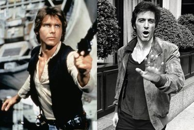 Al Pacino as Han Solo in<em>&nbsp;Star Wars</em>