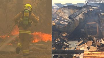 Residents rushed to safety as 50 out-of-control blazes grip NSW