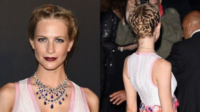 <p>It seems Poppy and Sienna have been swapping hair ideas.</p>