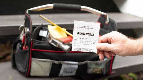 A Queensland tradie has won $10 million in the lottery.