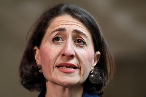 NSW Premier Gladys Berejiklian said the connection would 'fix bottlenecks and congestion'.