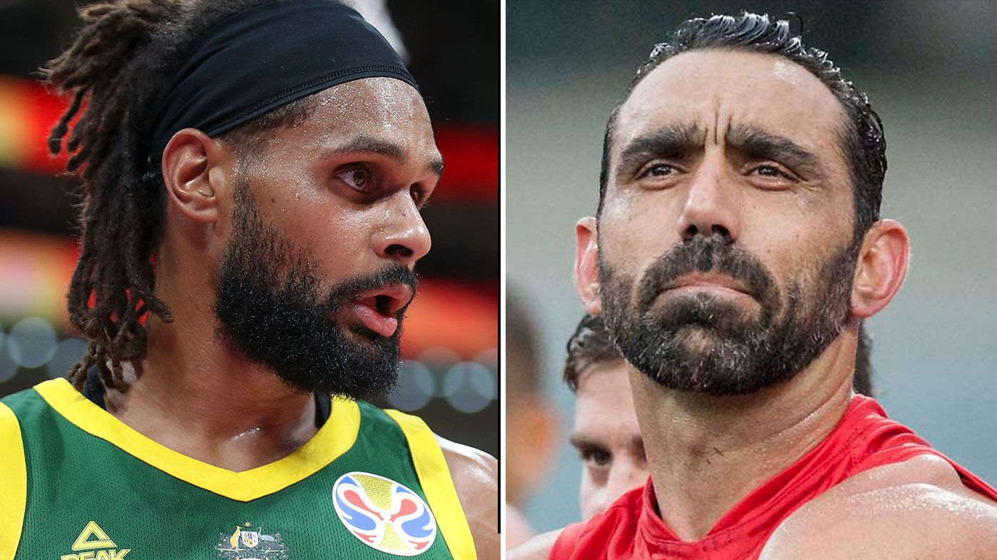 Patty Mills Adam Goodes