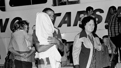 "1965-1980: The US continued to open its doors to Cuban refugees. In 1965 and 1980, Fidel Castro permitted migrants and exiles to travel from Cuba to the US. Known respectively as the Camarioca and Mariel boatlifts, hundreds of thousands of refugees left the communist country, with many also taking advantage of US President Lyndon Baines Johnson's ""freedom flights"" program. (AAP)"