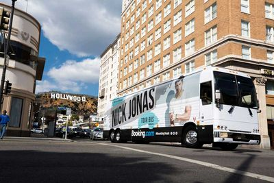 <strong>Nick Jonas Tour Bus</strong>