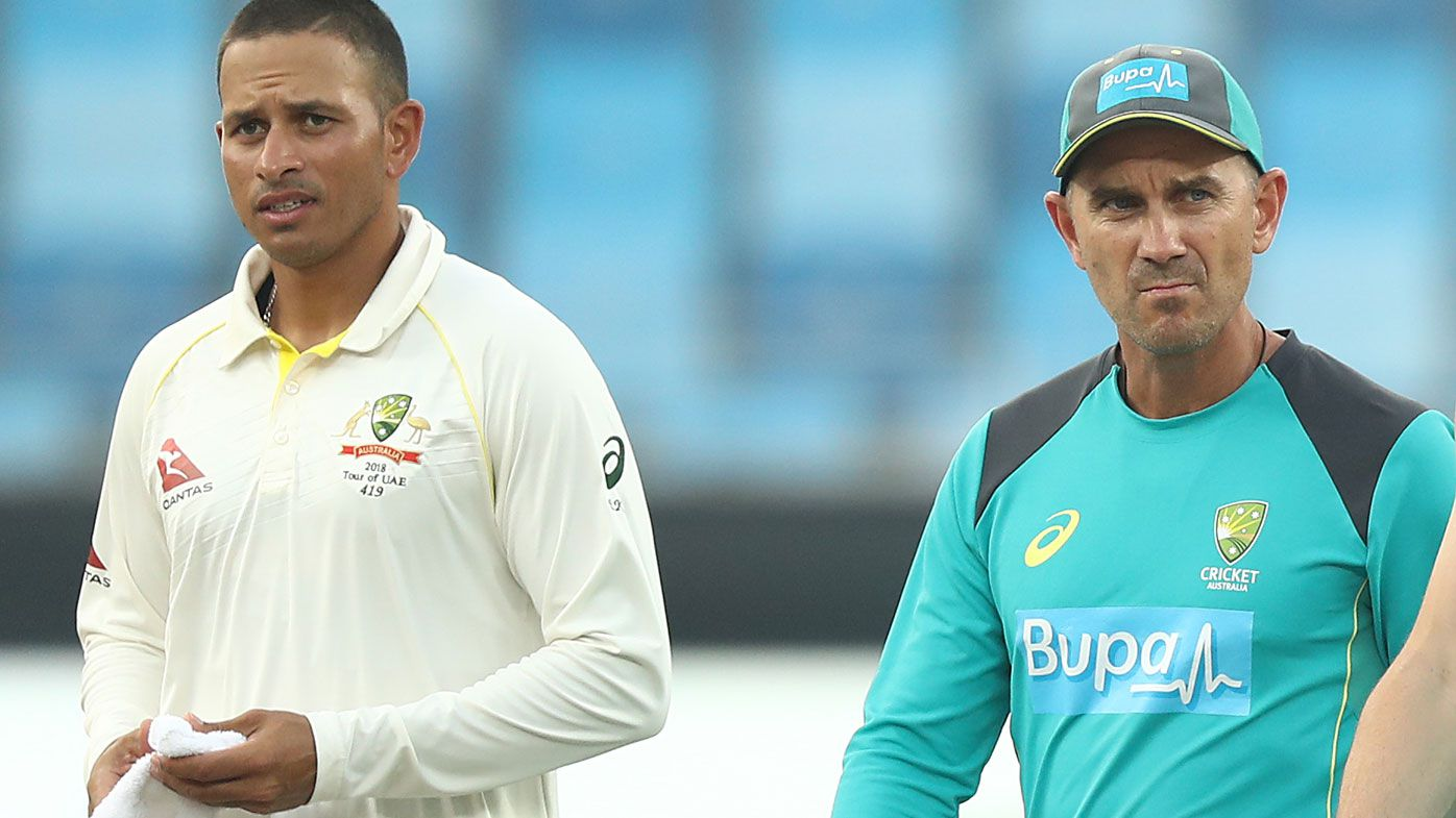 Justin Langer and Usman Khawaja had heated confrontation before Test, documentary shows