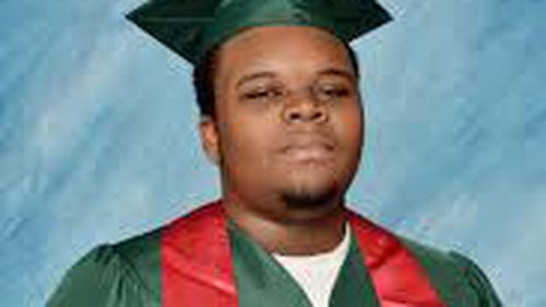 Michael Brown was shot dead by an officer in Ferguson.