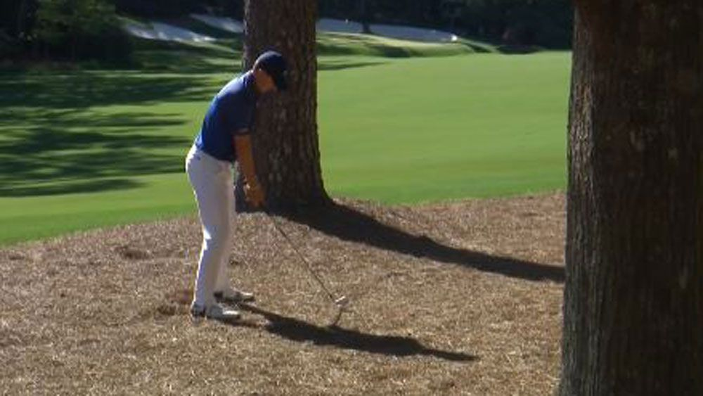 US Masters 2017: Jordan Spieth channels Phil Mickelson with brilliant shot on 13th hole at Augusta