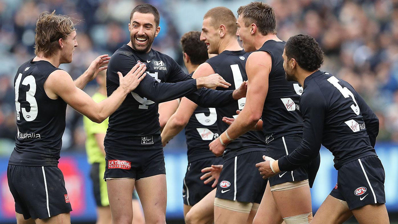 Carlton continues remarkable revival under David Teague as pressure mounts on Crows